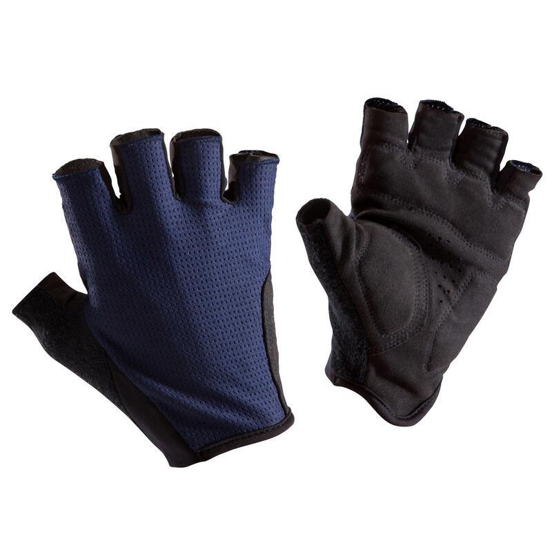 Cyklistické rukavice na silniční cyklistiku 500 tmavě modré