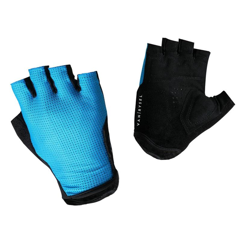 RoadR 500 Cycling Gloves - Sea Blue
