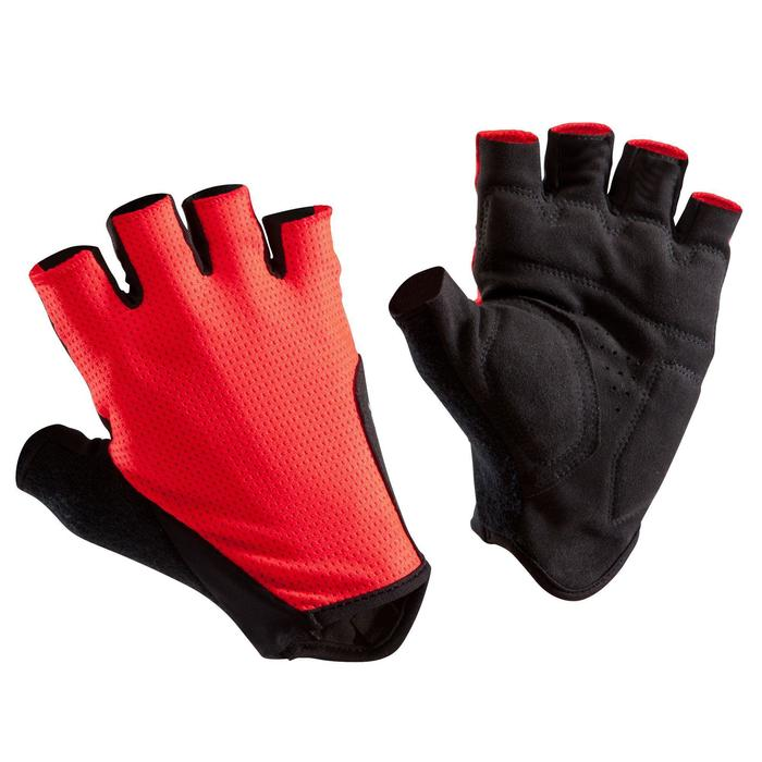 Road Cycling Gloves 500 - Red