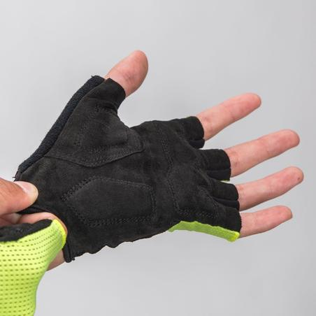 Road Cycling Gloves 500 - Neon Yellow