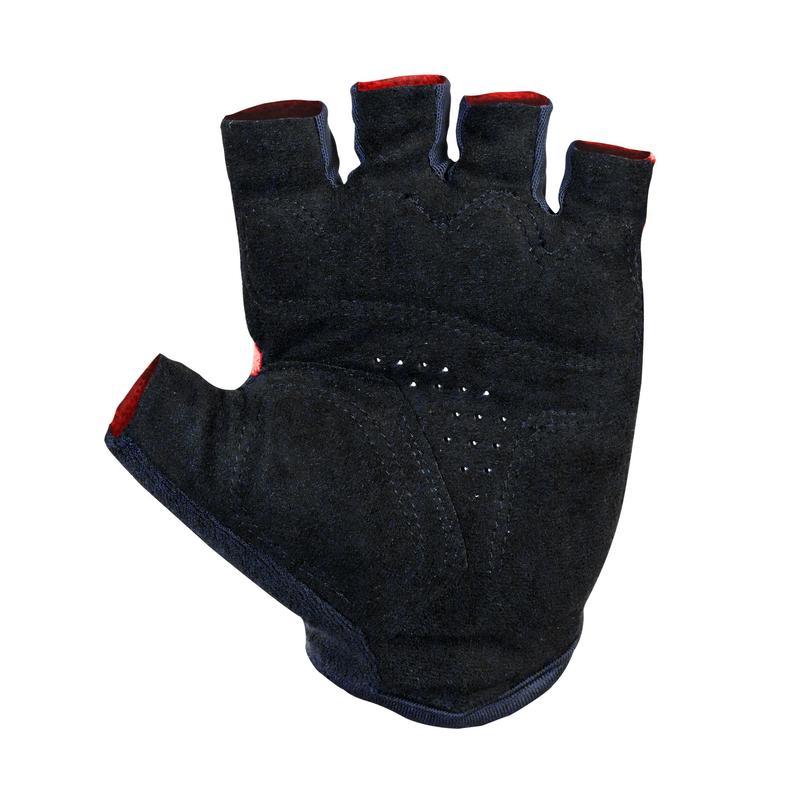 ถุงมือปั่นจักรยานรุ่น Roadr 500 (สีชมพูสะท้อนแสง)