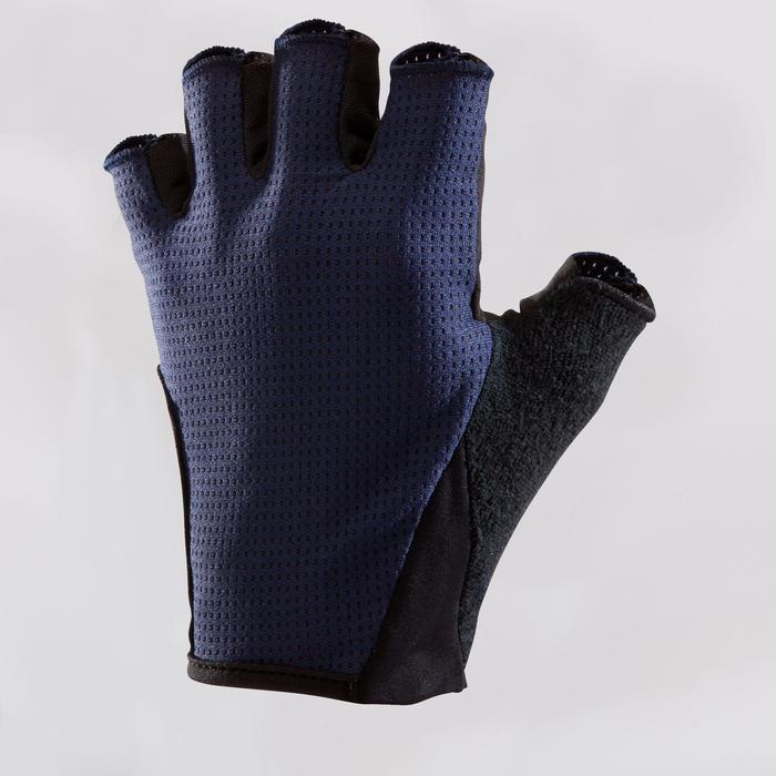 Fietshandschoenen racefietsen 500 marineblauw