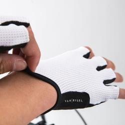 Fietshandschoenen racefietsen 500 wit