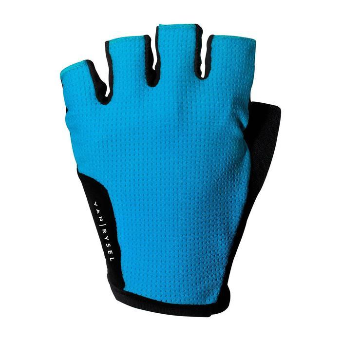 Guantes ciclismo ROADR 500 azul marino