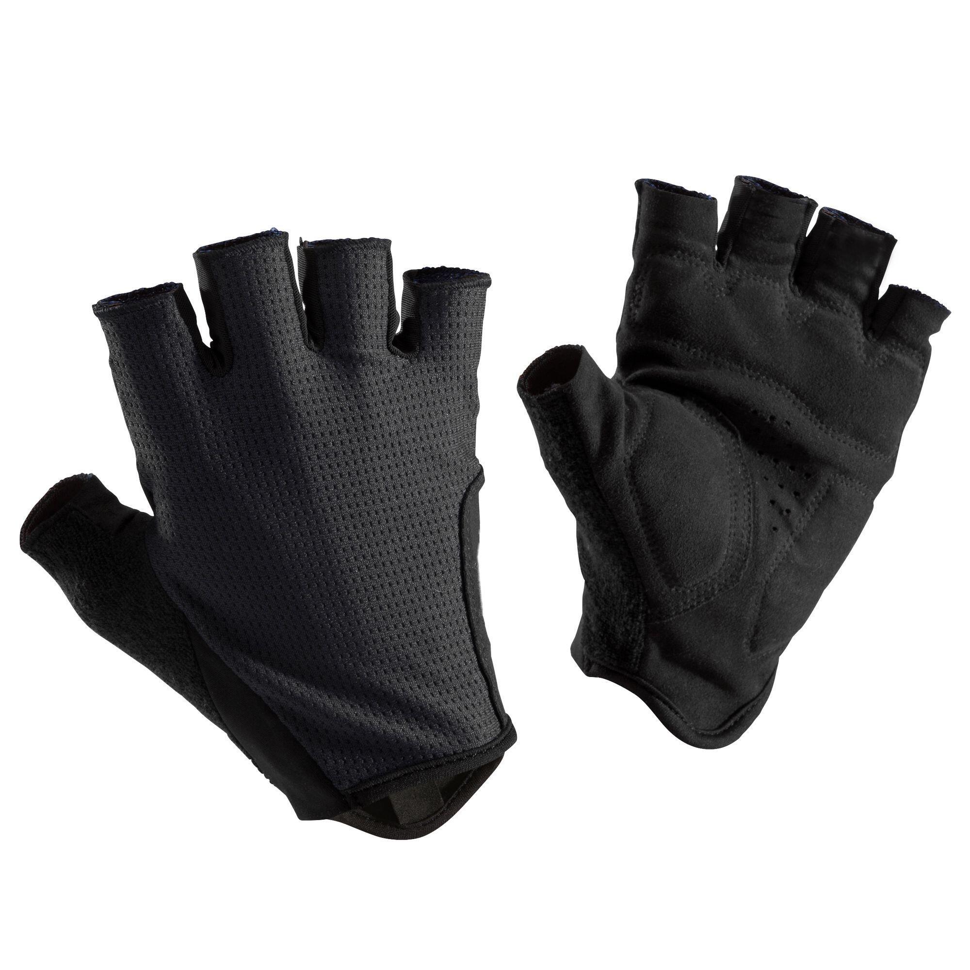 Fahrradhandschuhe Rennrad 500 neongelb | Accessoires > Handschuhe > Sonstige Handschuhe | Triban