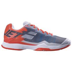 Tennisschoenen voor heren Jet Mach 1 grijs/oranje multi court