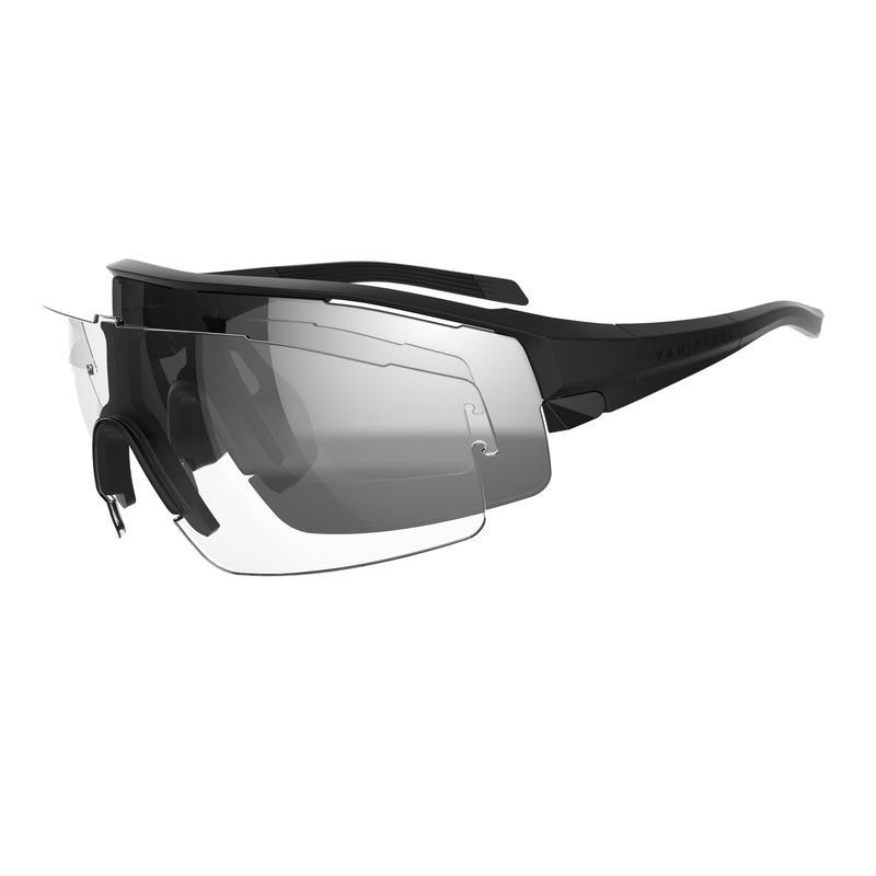 Gafas de ciclismo adulto VAN RYSEL ROADR 900 NEGRO