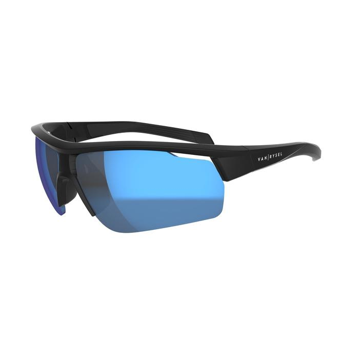 Fietsbril volwassenen Roadr 500 categorie 3 zwart