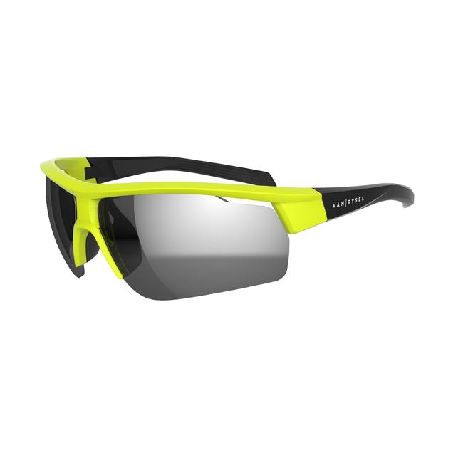 Roadr 500 Adult Cycling Cat 3 Sunglasses - Neon Yellow/Green
