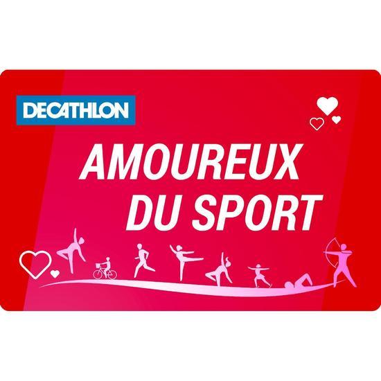 E Carte Cadeau Sport lovers