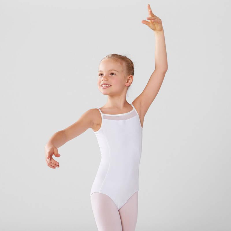 DÍVČÍ TRIKOTY, OBLEČENÍ NA BALET Balet - DÍVČÍ BALETNÍ TRIKOT DOMYOS - Balet