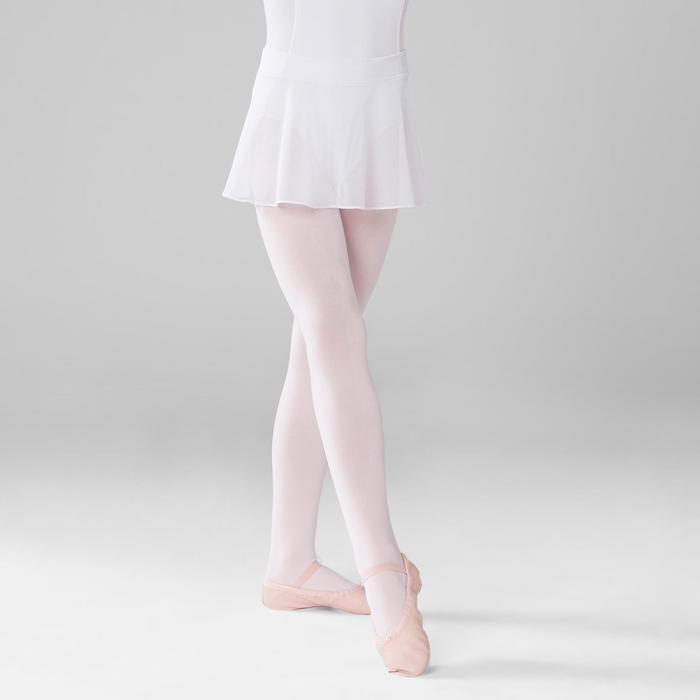Ballettrock Tüll Kinder weiß