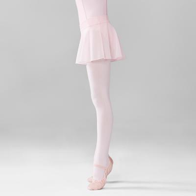 Jupette de danse classique en voile fille rose