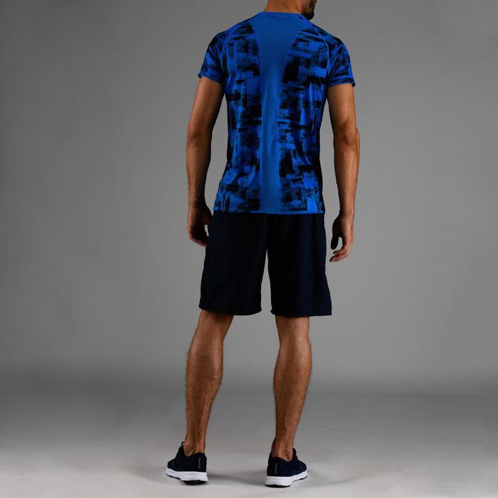 T-Shirt FTS 120 Cardio-/Fitnesstraining Herren blau AOP