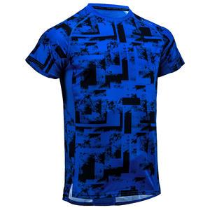 Men's Regular-Fit Rapid Dry Cardio Gym T-Shirt - Blue