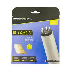 Tennisbesnaring multifilament TA 500 comfort 1,3 mm beige