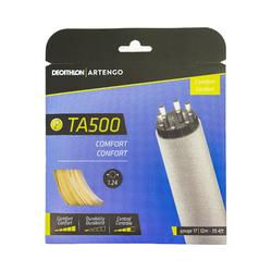 Multifilament tennisbesnaring bruin TA 500 Comfort Sensation doorsnede 1,24 mm.