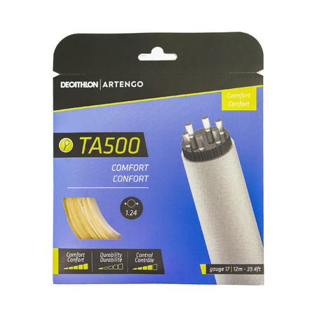 TA 500 Comfort and Sensation Multifilament Tennis String 1.24 mm - Brown