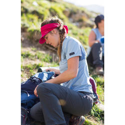 Casquette de Trekking Montagne TREK 100 ultra-compacte rose