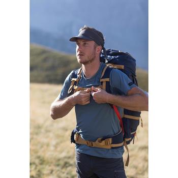Ultracompacte pet voor bergtrekking Trek 100 donkergrijs