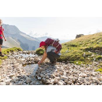 Casquette de trekking montagne - TREK 100 ultra-compacte rose