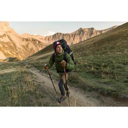 成人登山健行手套Trek 900-棕色