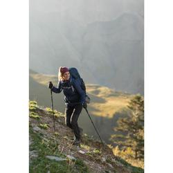 Pantalon de trek montagne - TREK 500 gris foncé Femme