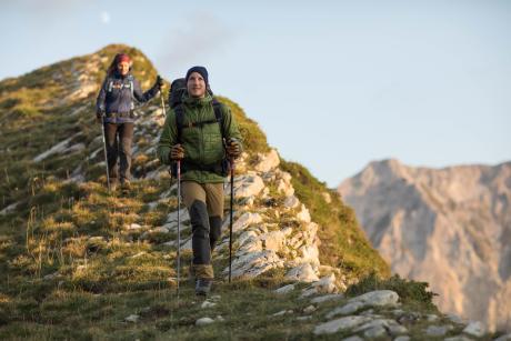 登山時準備好洋蔥式穿搭