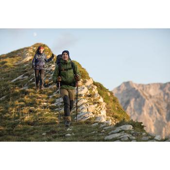 Guantes trekking montaña TREK 900 impermeables adulto marrón