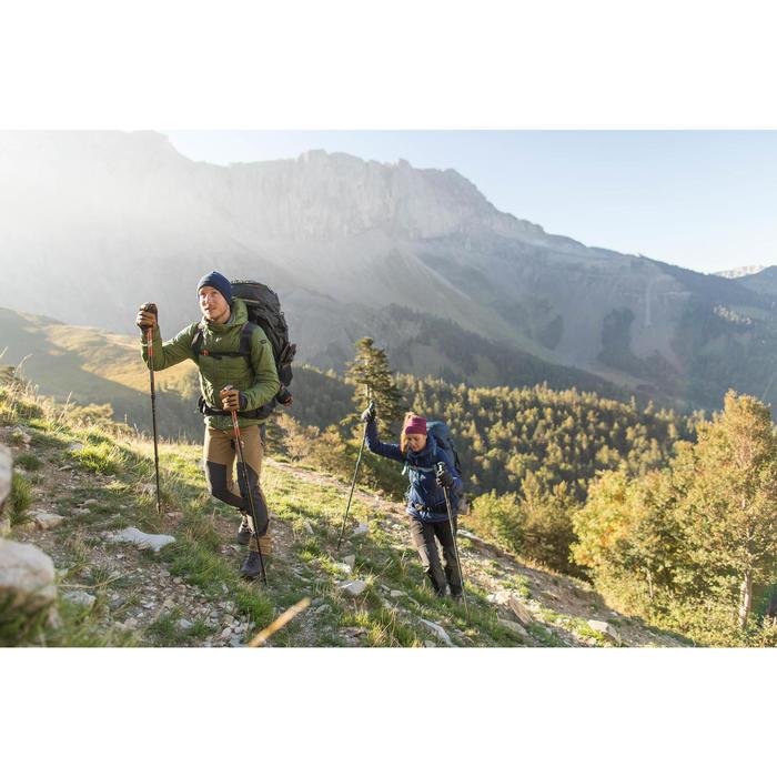 Gants trekking montagne TREK 900 imperméable adulte marron