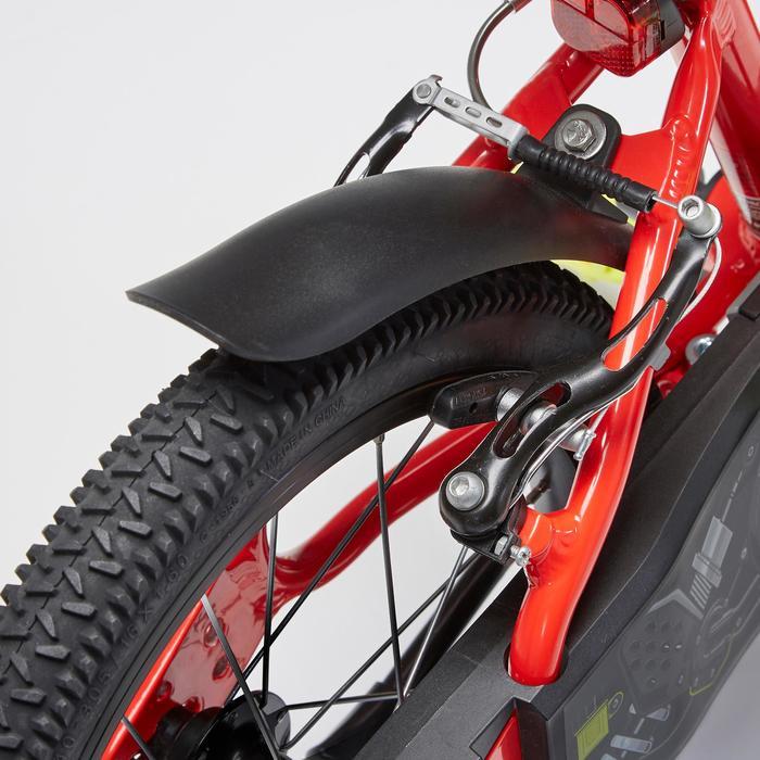 Fiets 16 inch 4,5-6 jaar 900 alu racing rood