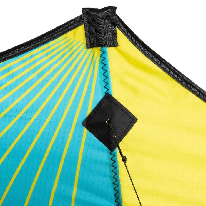 Cometas acrobáticas Playa Orao Para Adultos FOURLINES 500 Amarilla/Azul/Negro