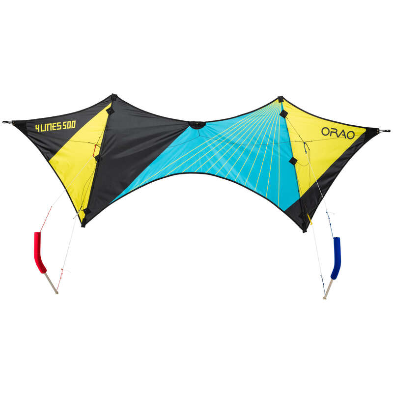 STUNT KITE & ACCESSORIES Kiting - FOURLINES 500. ORAO - Sports