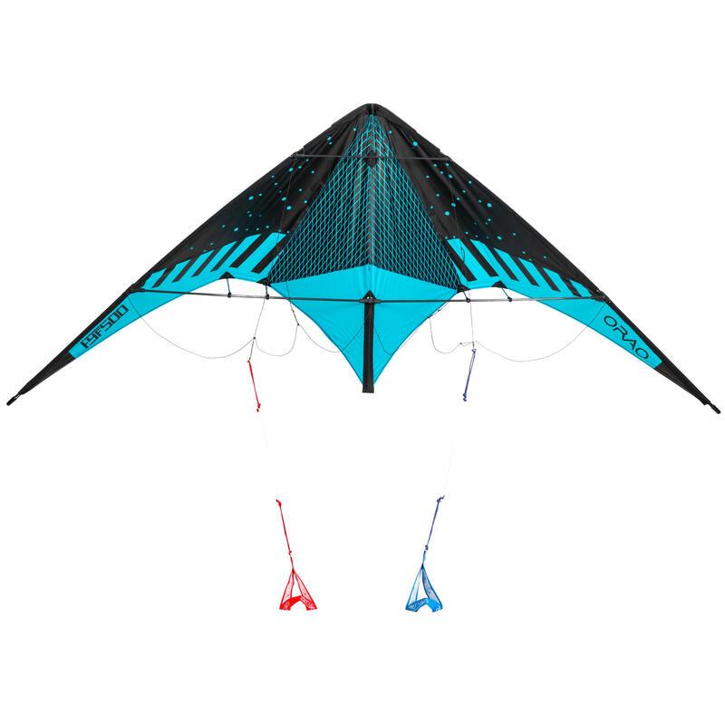 FYF 500 Versatile Stunt Kite Carbon