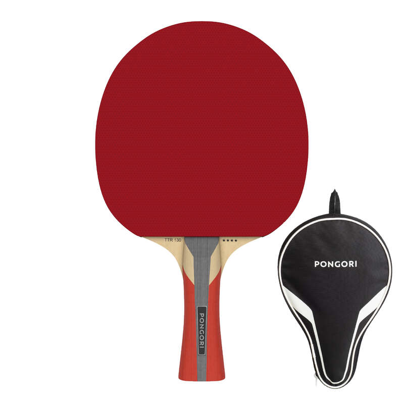 ACADEMIC RACKETS Table Tennis - TTR 130 4* Spin & Cover PONGORI - Table Tennis Equipment