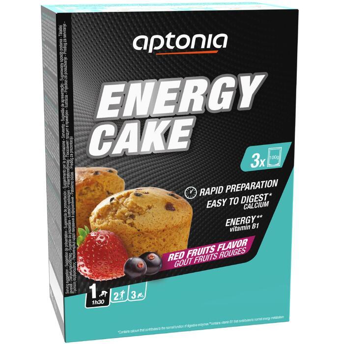 Gâteau énergétique fruits rouges 3x100g