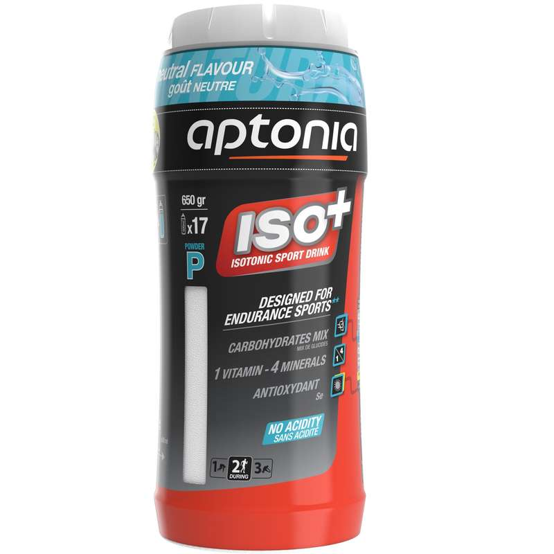 HYDRATION & BEFORE Triathlon - ISO+ 650g NEUTRAL PH APTONIA - Triathlon Nutrition and Hydration