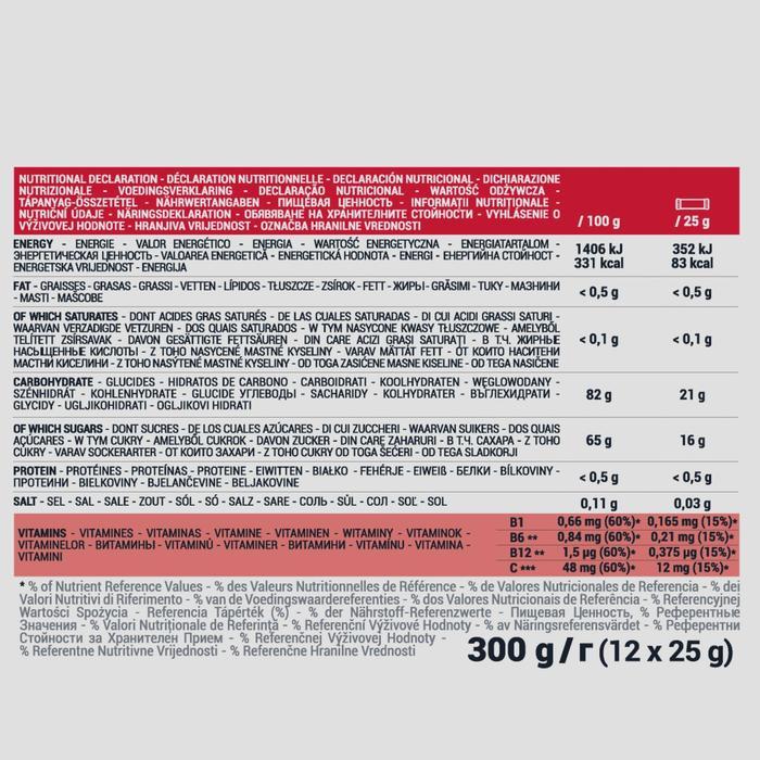 Pâte de fruits énergétique ECOSIZE fraise acerola 12x25g