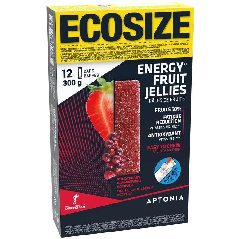ENERGIASZELETEK, ENERGIAZSELÉK Táplálkozás és ápolás - Gyümölcsszelet Ecosize 12x25g APTONIA - HD - GEONAUTE
