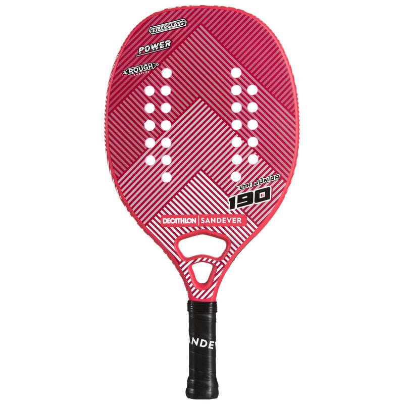 TENIS PLAŻOWY Tenis - Rakieta BTR 190 JR SANDEVER - Nauka gry w tenisa