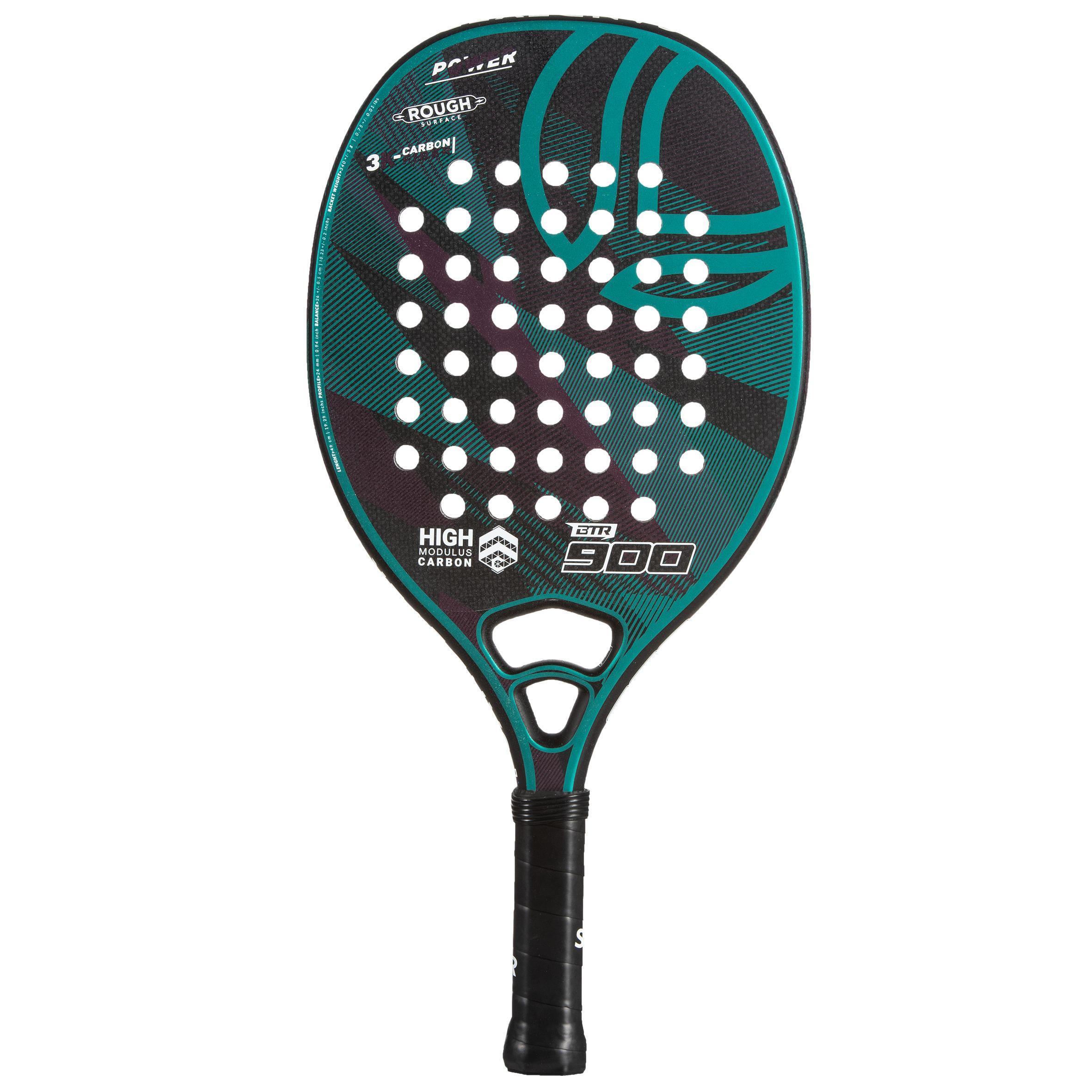 Raquette beach tennis btr 900 power green sandever