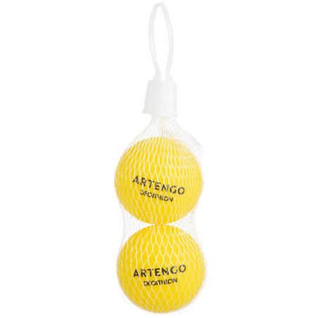Plastic Beach Tennis Balls Twin-Pack