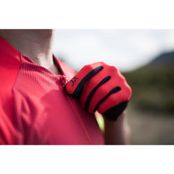 MTB-shirt XC Light heren rood