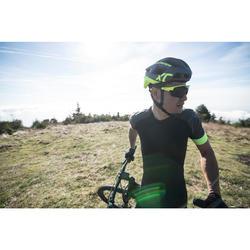 MTB-Sonnenbrille XC Race photochrom neongelb