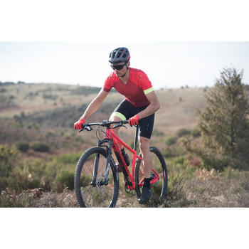 Condenswerende mountainbikebril XC Race rood
