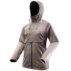 男款防水外套NH500-咖啡色