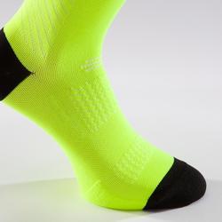 Fahrrad-Socken Rennrad RR 900 gelb fluo