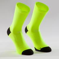 900 Road Sport Cycling Socks - Neon Yellow