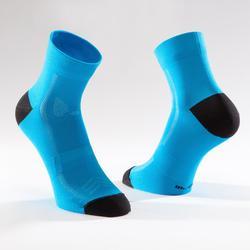 Fahrrad-Socken Rennrad RR 500 meeresblau