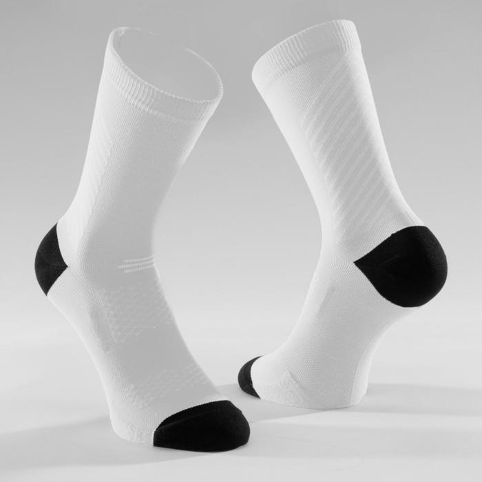 Chaussettes vélo route cyclosport 900 blanches